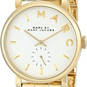 Marc by Marc Jacobs - Baker Gold Tone Watch
